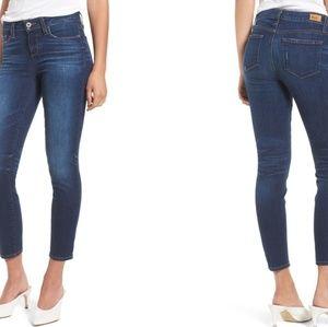 Paige Verdugo Transcend Vintage Crop Skinny Jean
